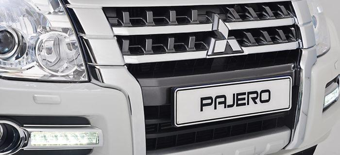 Pajero SWB front grille