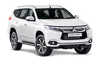 The Mitsubishi Pajero Sport