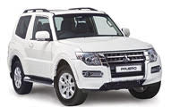 The Mitsubishi Parero SWB